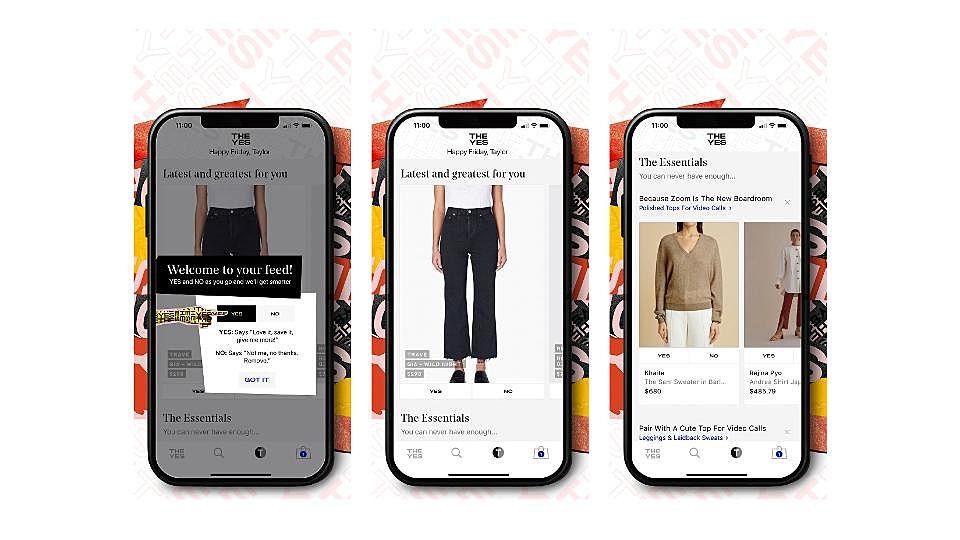 The Yes Wants to Replace Personal Shoppers With AI