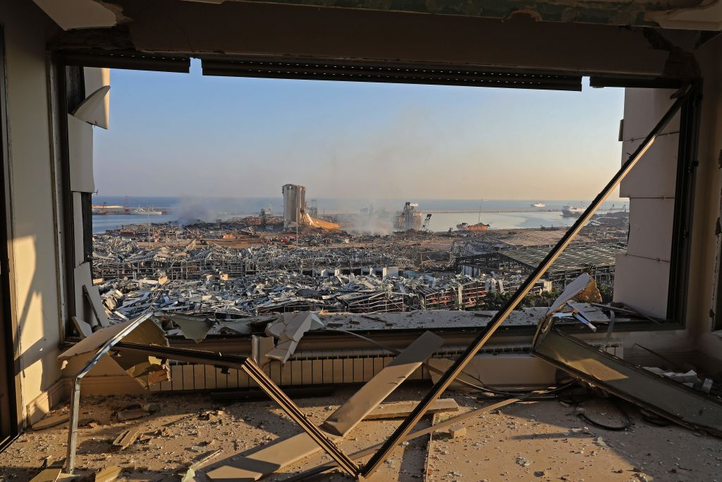 Beirut Searches for Answers Following Massive Explosion