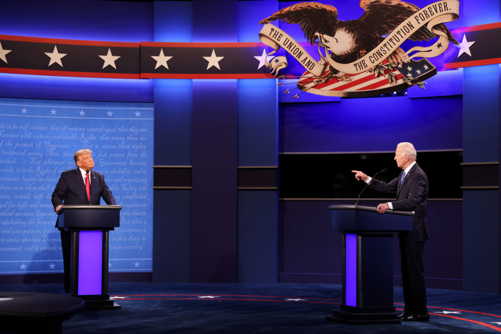 Biden, Trump Face Off in FInal Debate