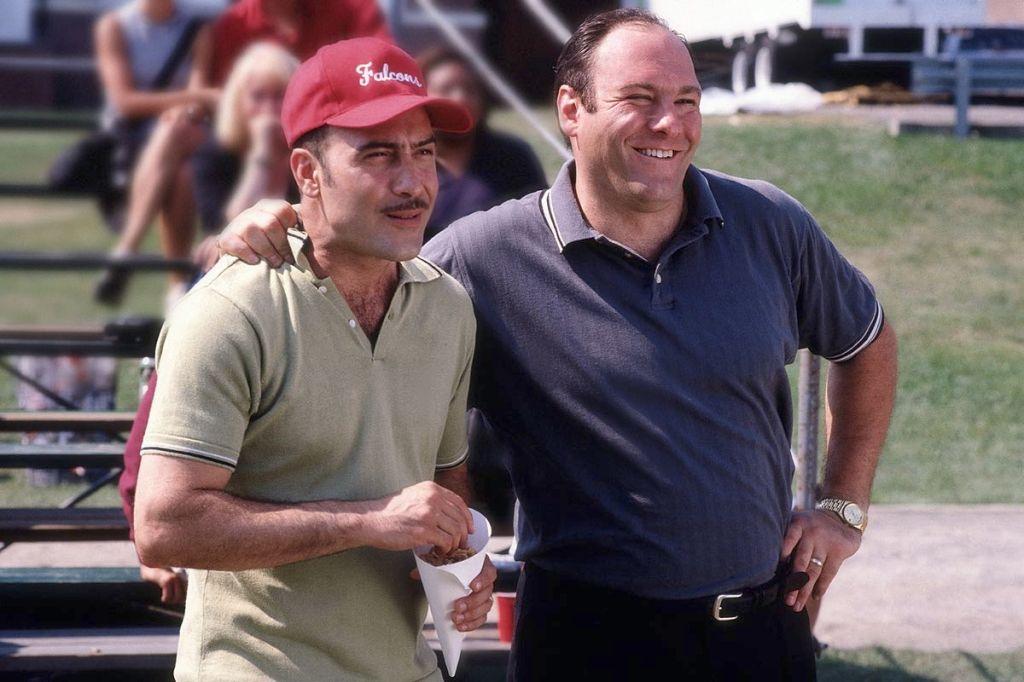 Tony Soprano golfing