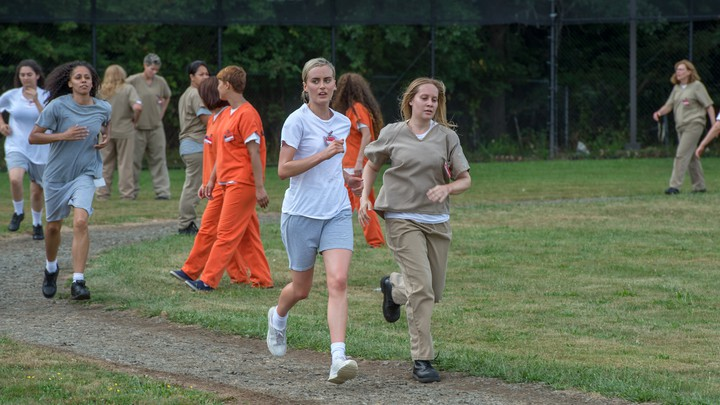 Running in Orange is the new black