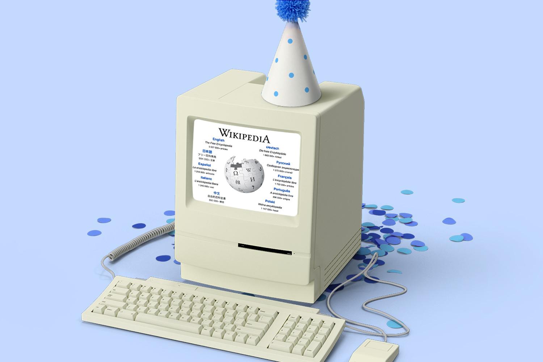 Wikipedia Turns 20