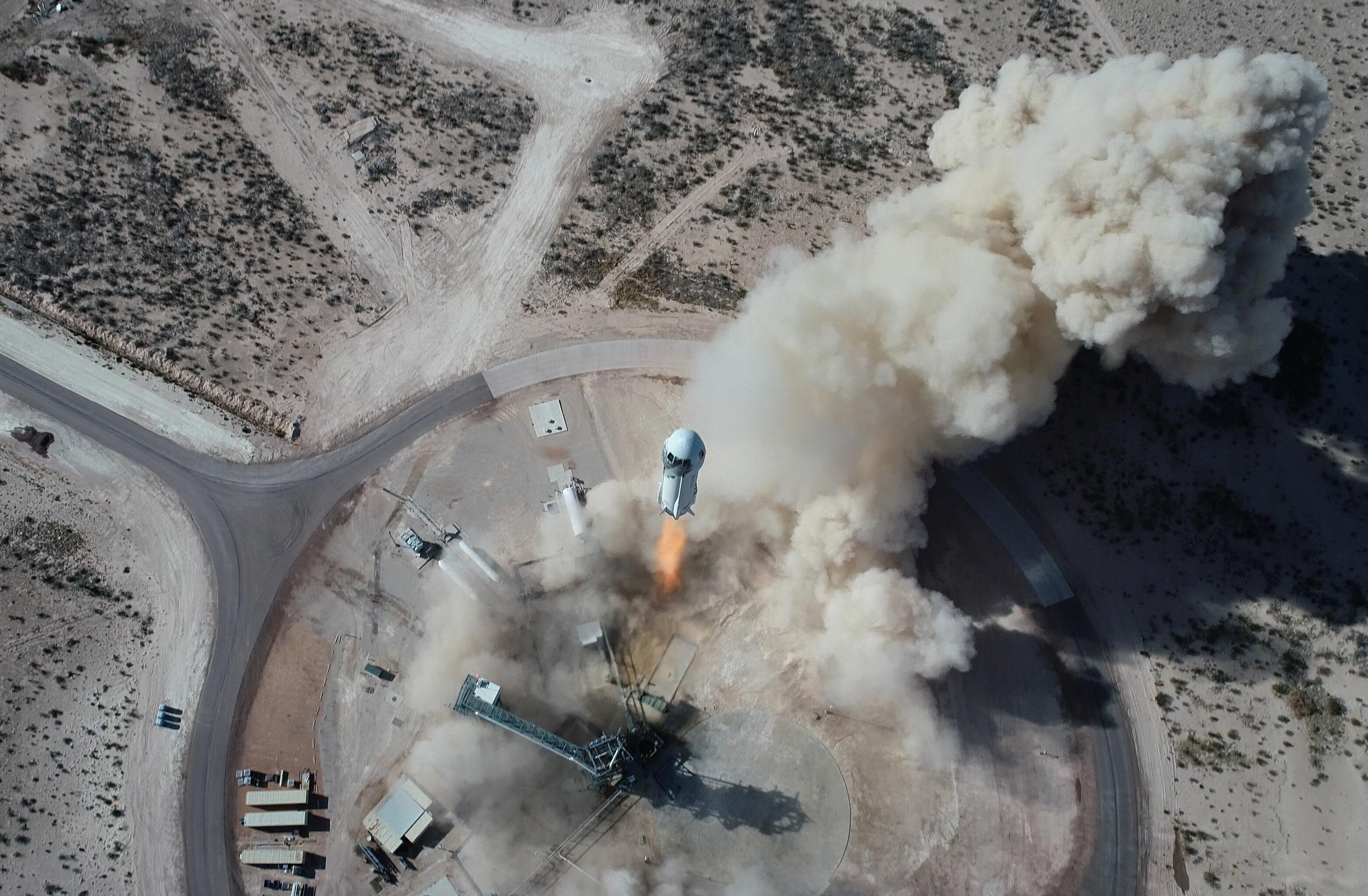 Blue Origin's First Space Mission of 2021