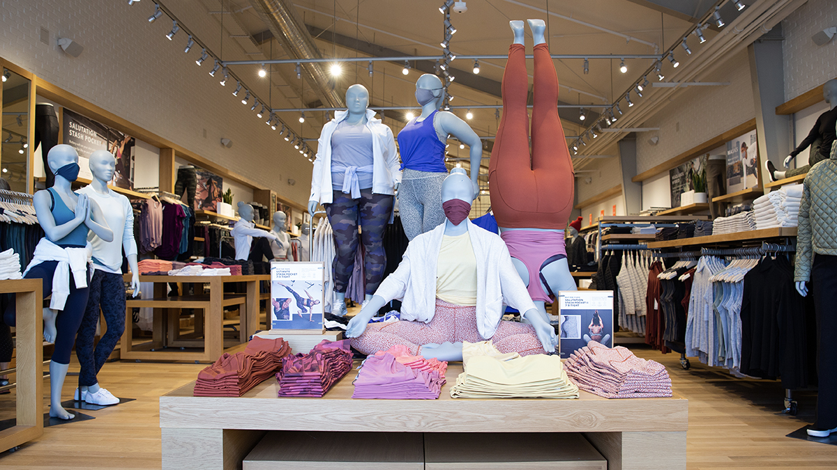 Athleta Adds Extended Sizes and Size-Inclusive Store Displays
