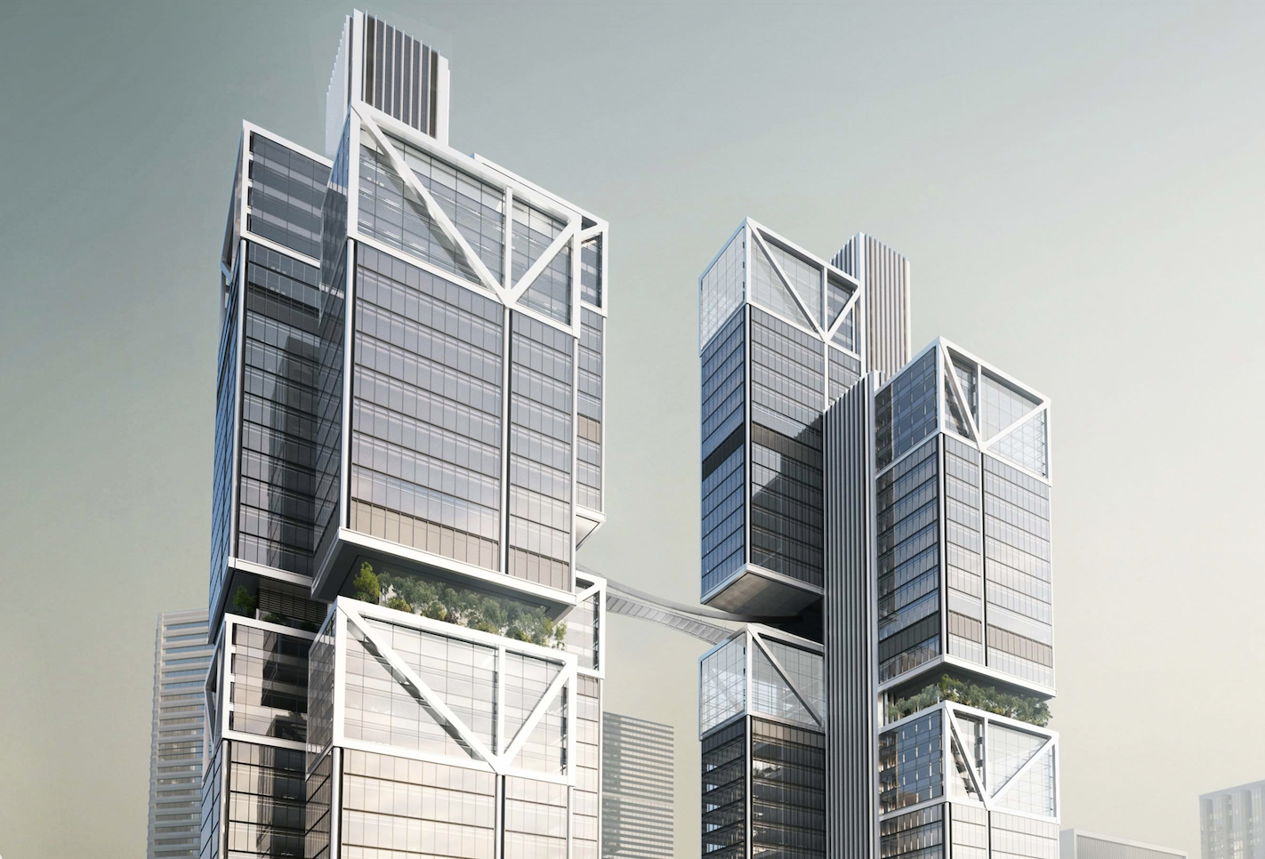 DJI future headquarters, being built by Foster and Partners