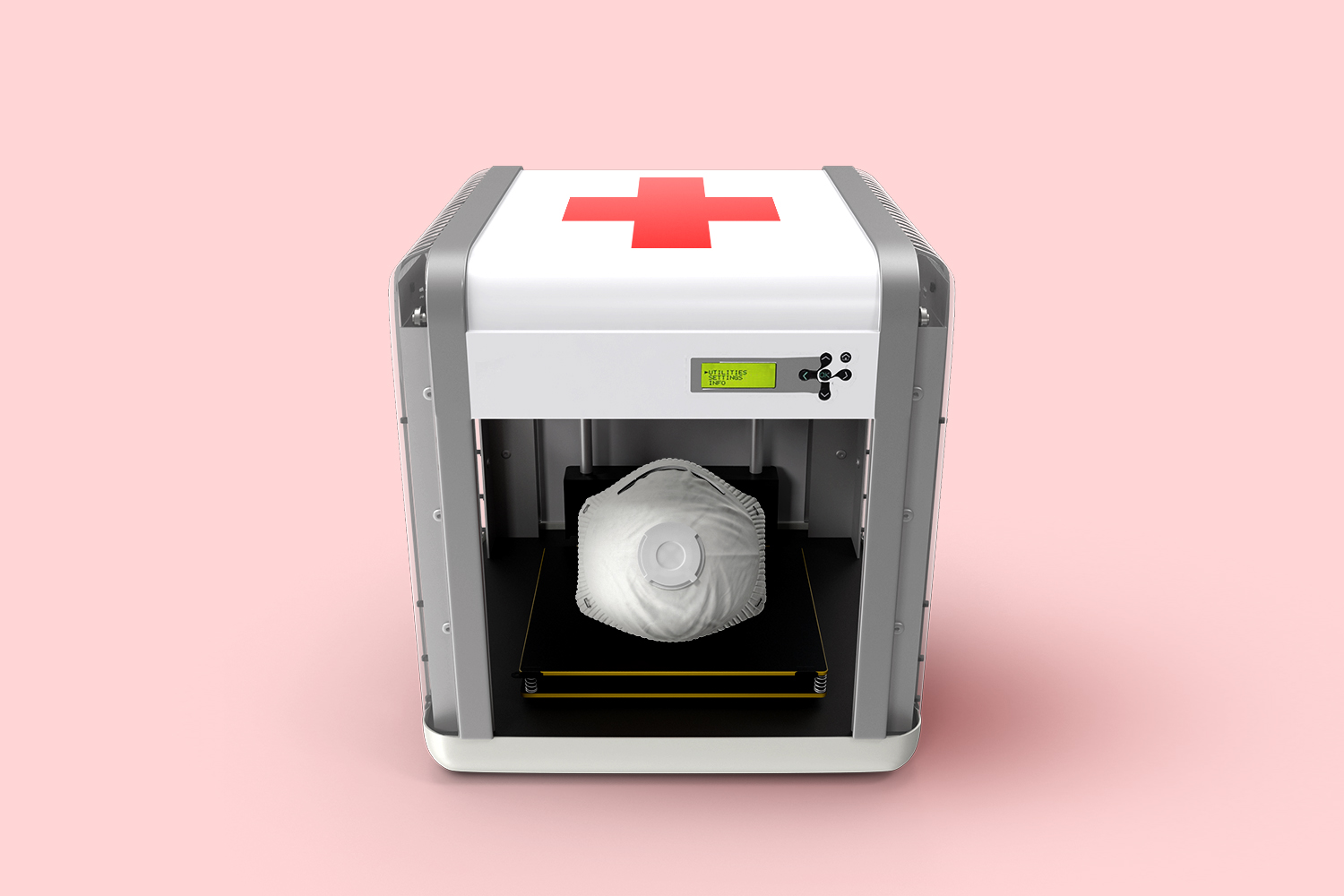 3D printer manufacturing medical equipment, personal protective equipment, and more during coronavirus crisis