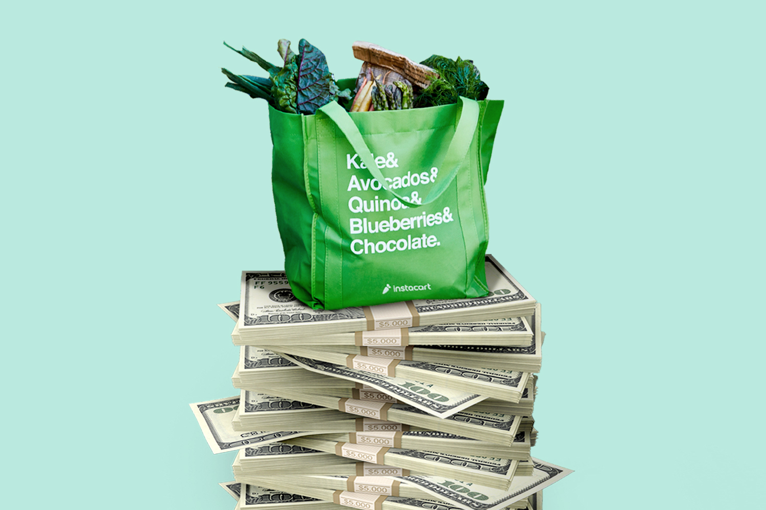 Instacart Doubles Valuation to $39B with Latest Funding Round