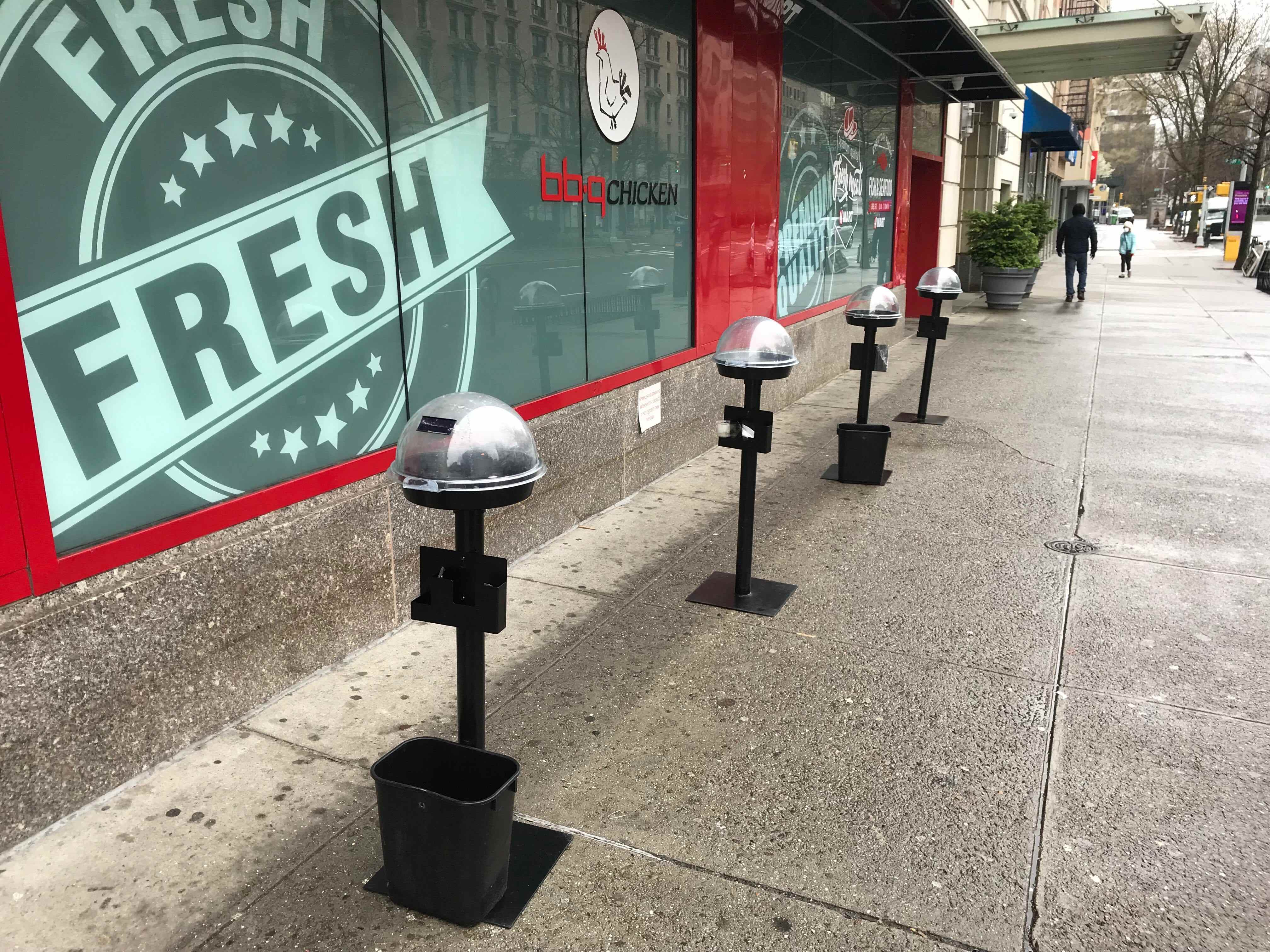 One-way aisles are coming to a Walmart near you. Social distancing meters at an NYC grocer via Morning Brew's Neal Freyman